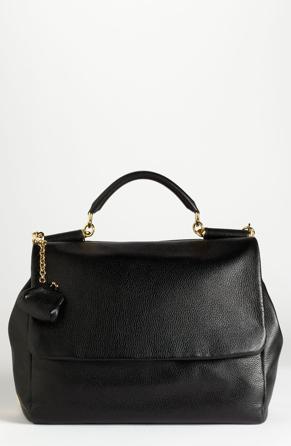Main Image - Dolce&Gabbana 'Miss Sicily Soft' Leather Satchel