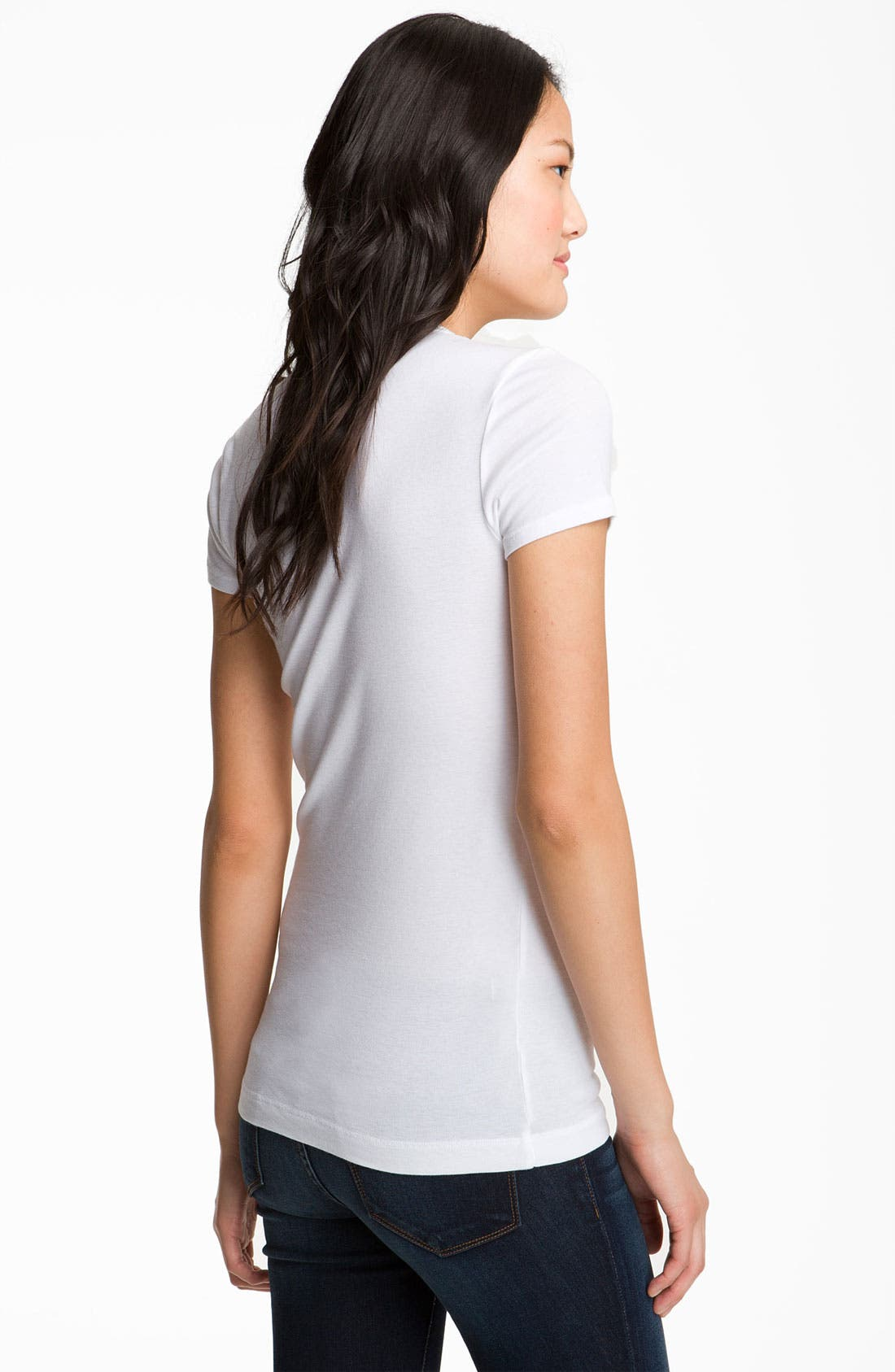 Alternate Image 2  - Splendid Lightweight Scoop Jersey Tee
