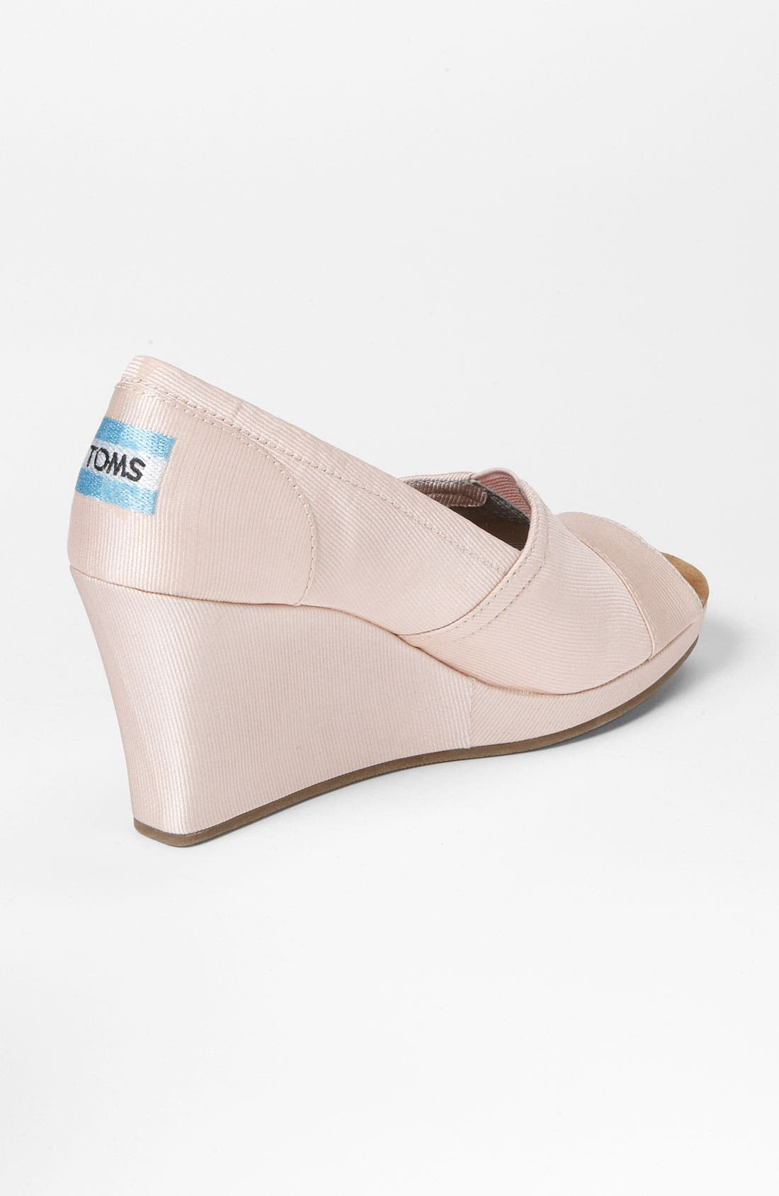 Alternate Image 2  - TOMS Grosgrain Wedge (Women)