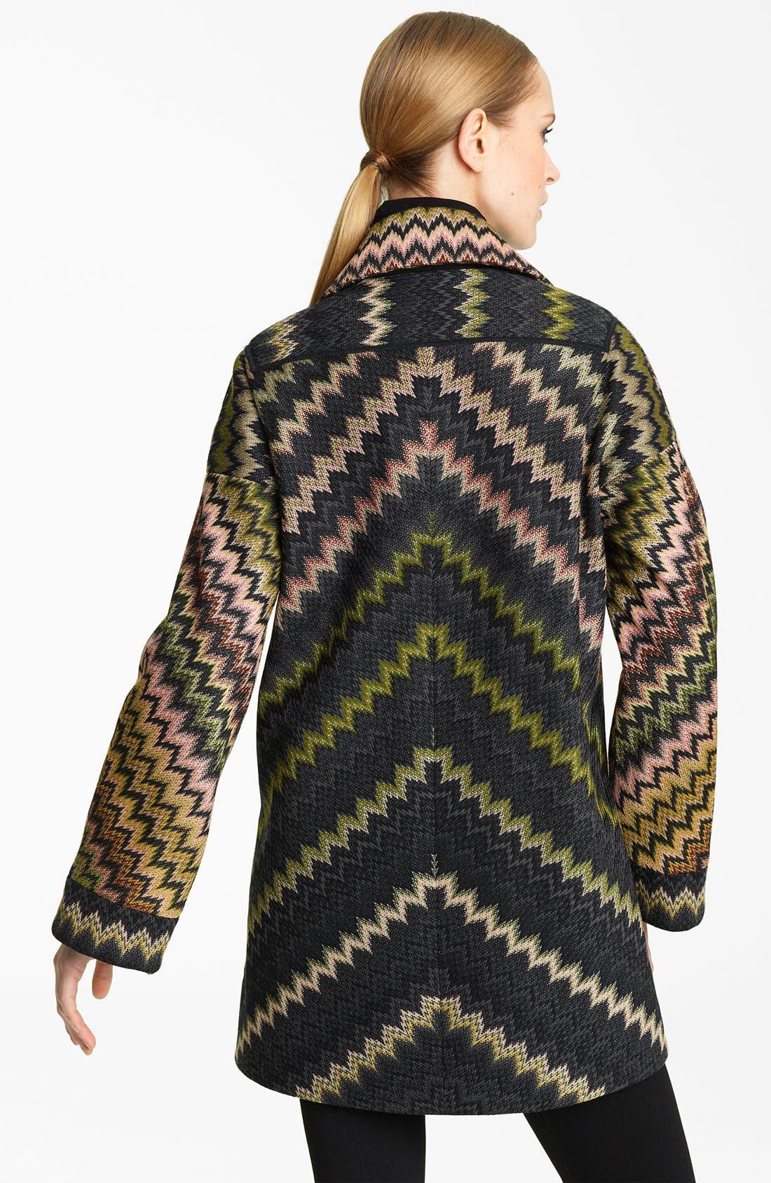 Alternate Image 2  - Missoni Zigzag Coat