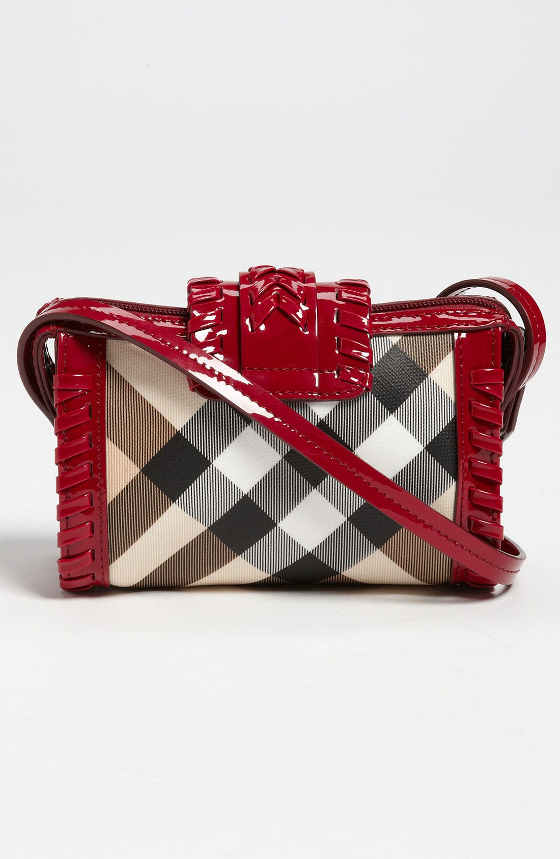 Alternate Image 4  - Burberry Crossbody Bag (Girls)