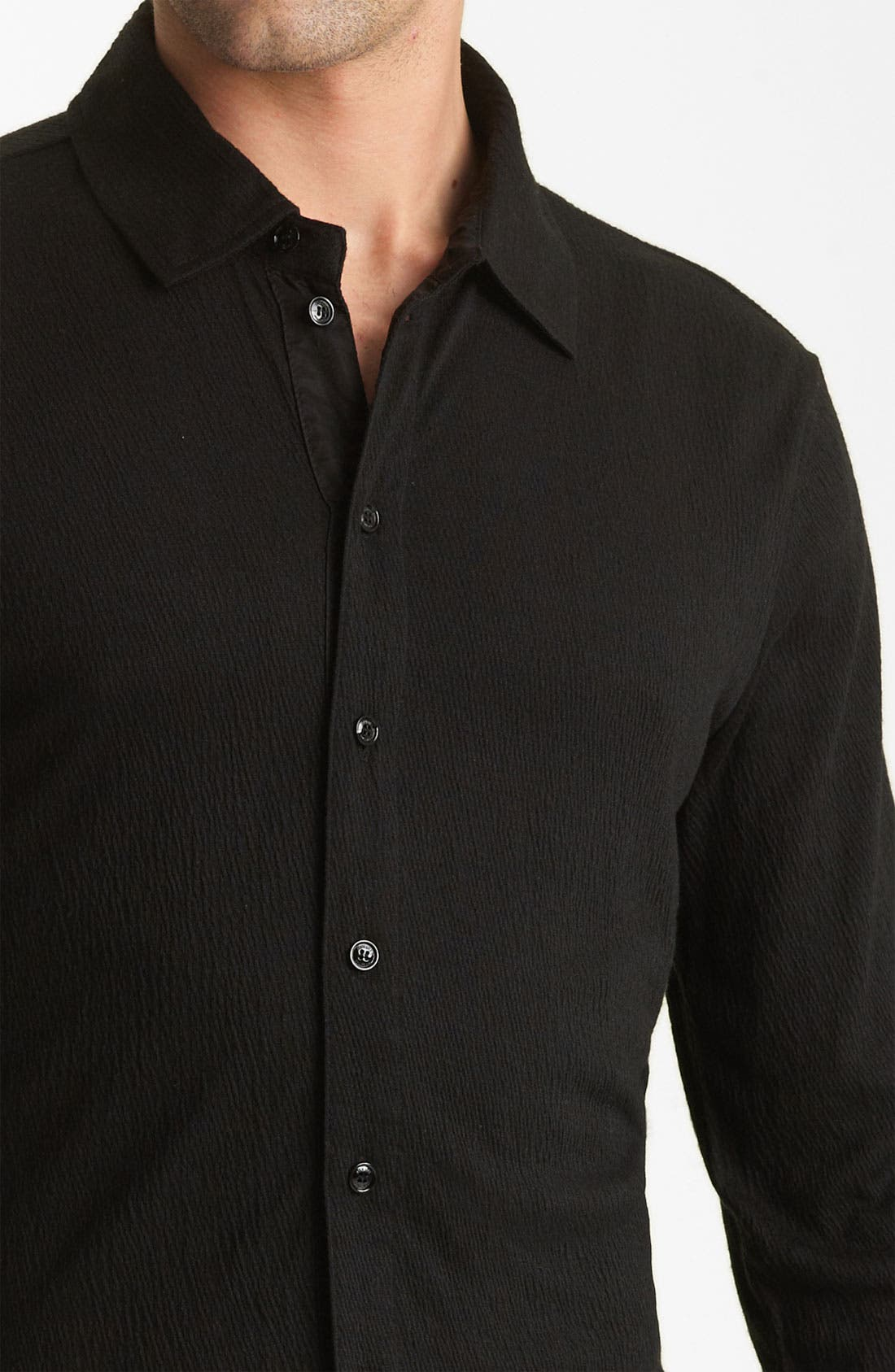 Alternate Image 3  - Armani Collezioni Knit Shirt