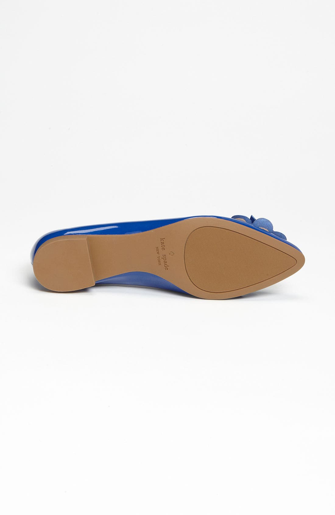 'erica' flat,                             Alternate thumbnail 4, color,                             Royal Blue Patent