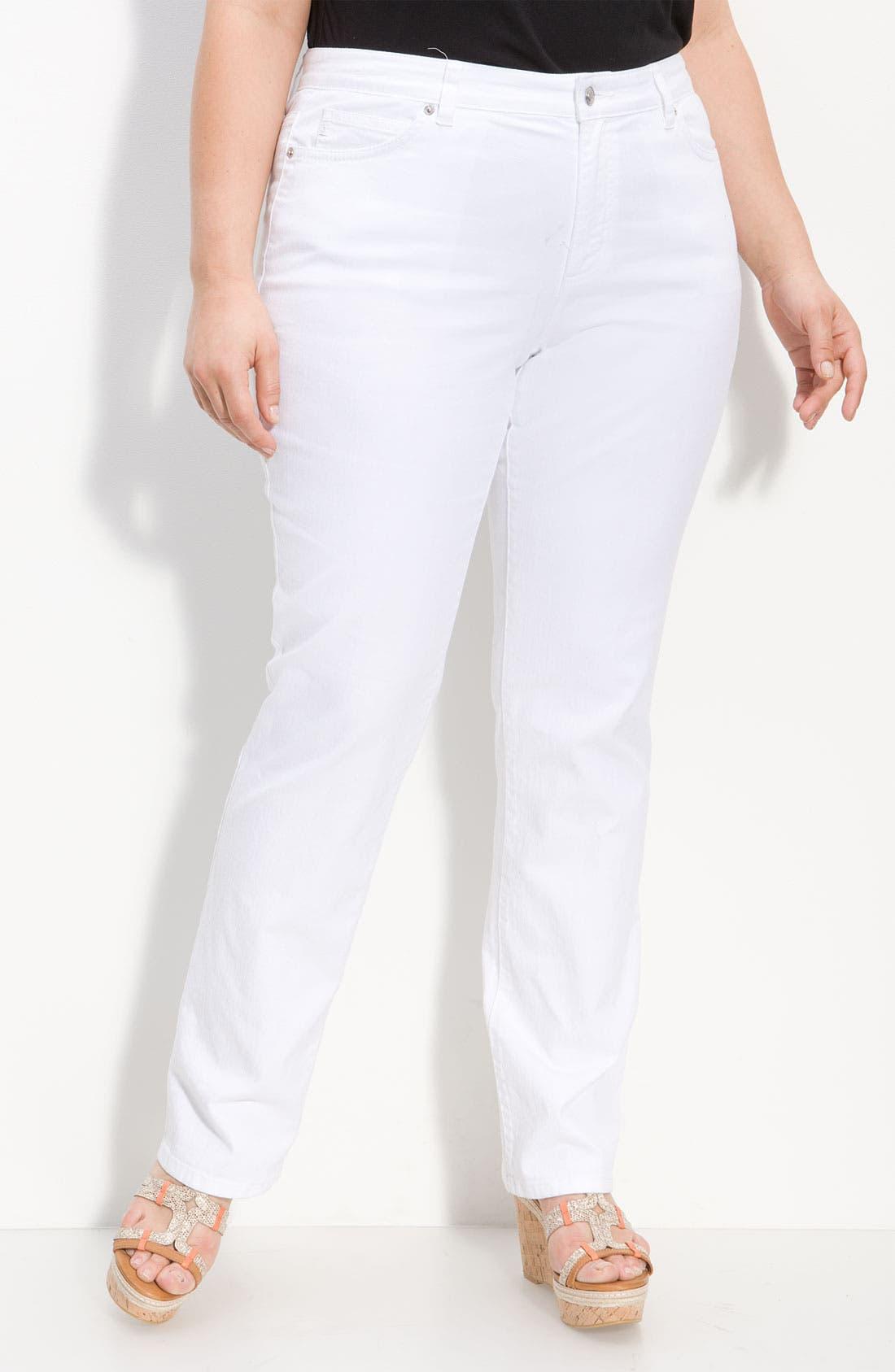 Alternate Image 1 Selected - MICHAEL Michael Kors Skinny Jeans (Plus)