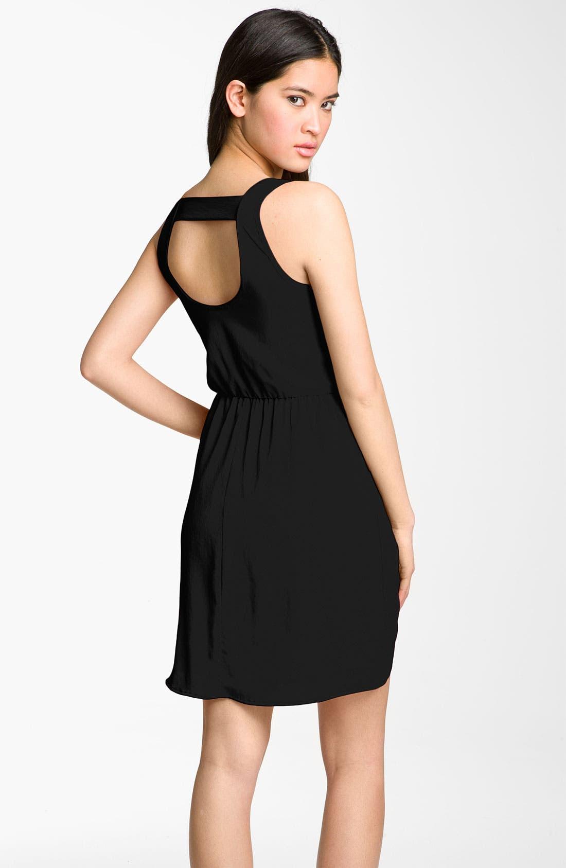 Alternate Image 2  - Lush Cutout Back Dress (Juniors)