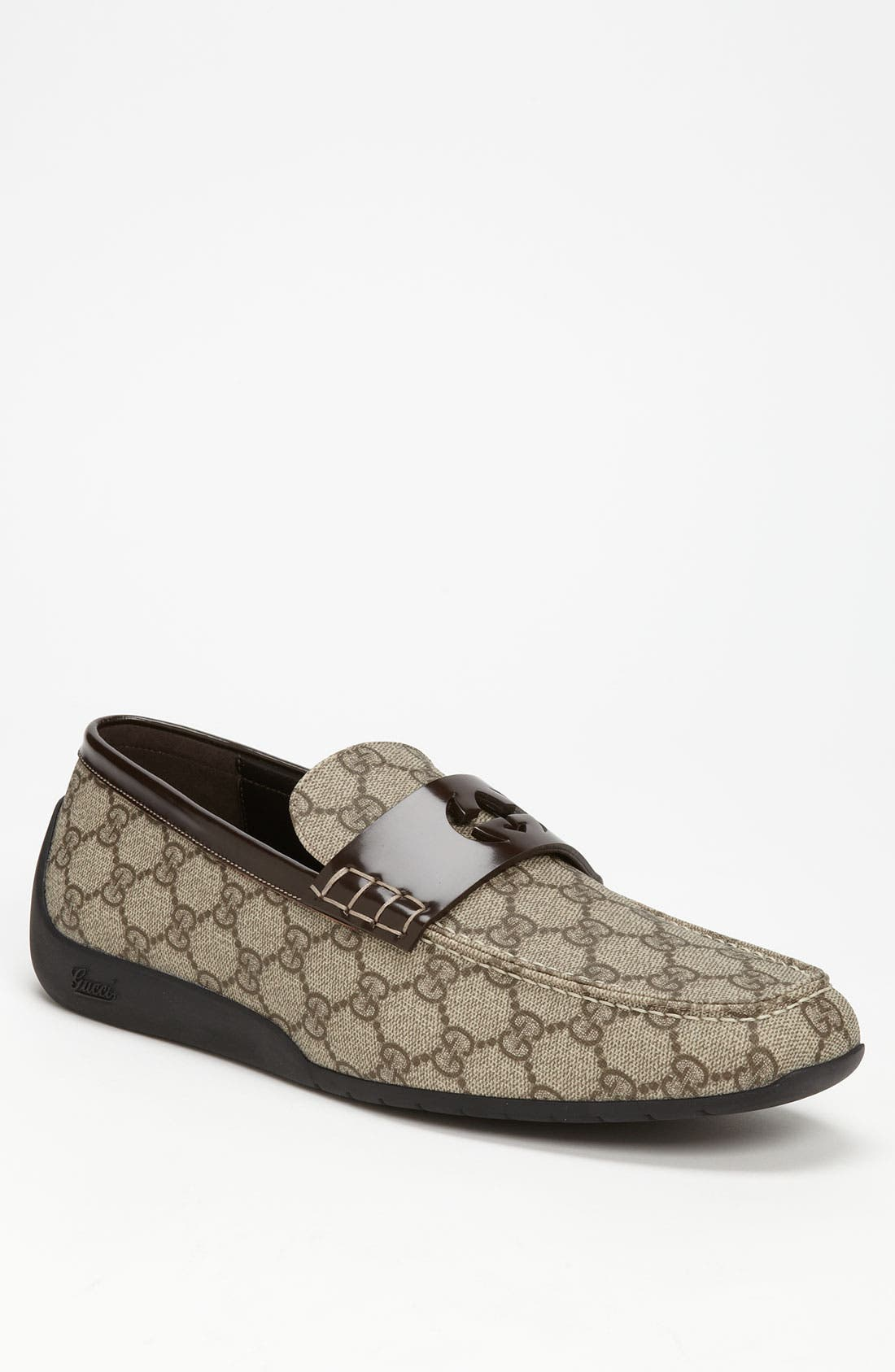 Alternate Image 1 Selected - Gucci 'Silverstone' Driving Shoe
