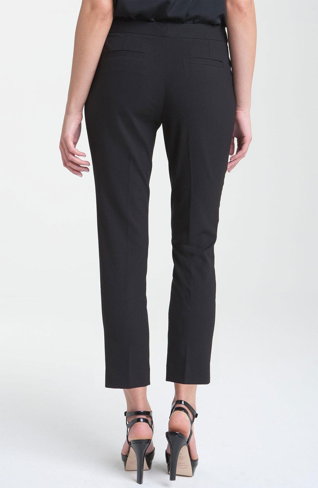 Alternate Image 2  - Vince Camuto Skinny Ankle Pants (Petite)