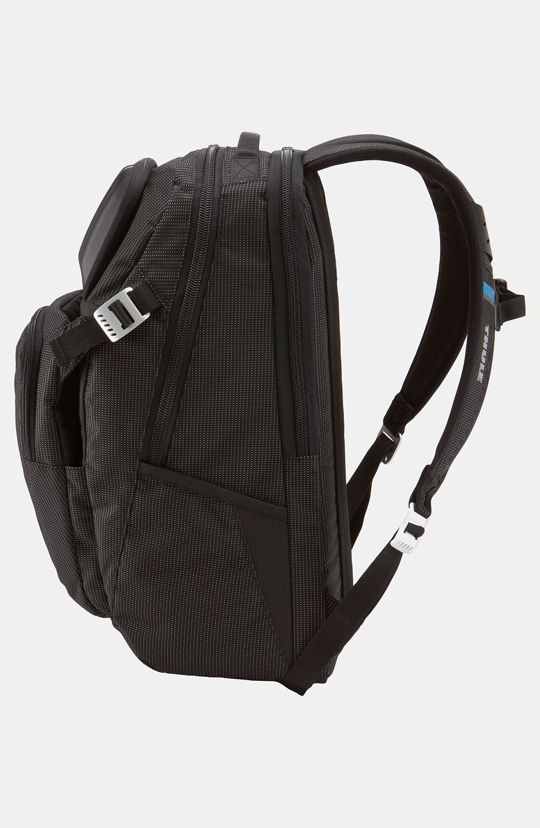32-Liter Crossover Backpack,                             Alternate thumbnail 3, color,                             Black