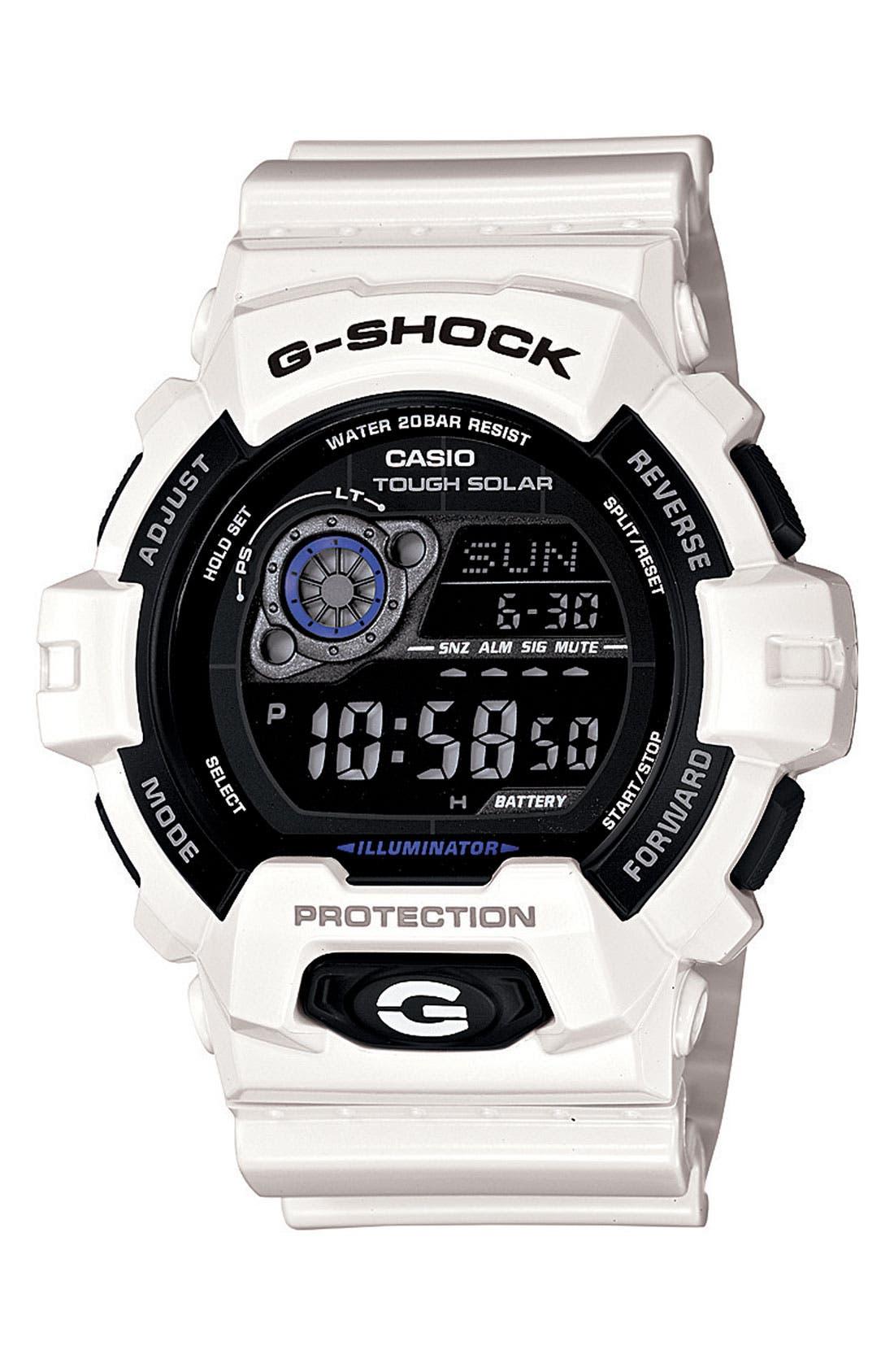 Main Image - G-Shock 'X-Large - Solar' Digital Watch, 55mm