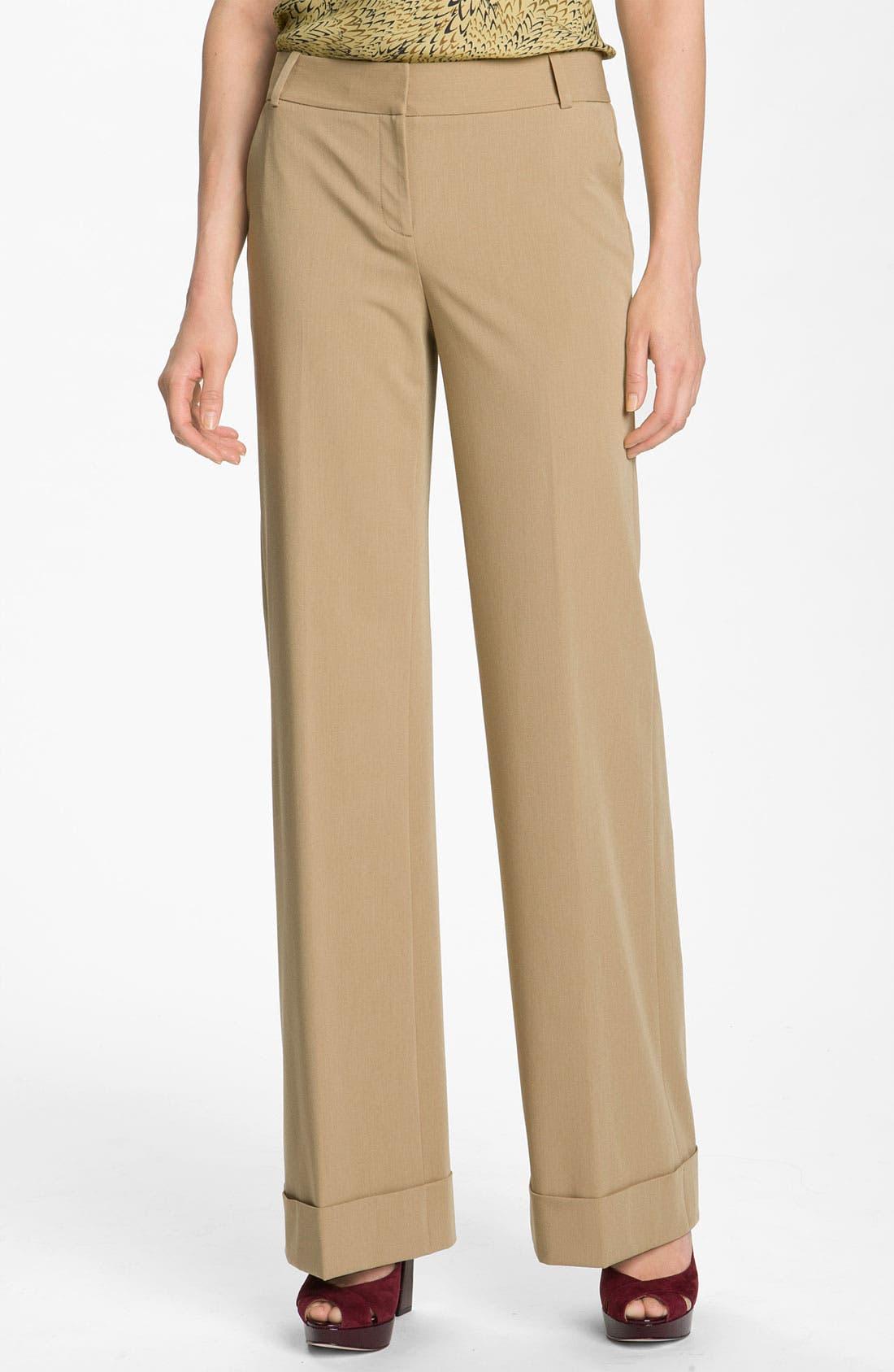 Alternate Image 1 Selected - Classiques Entier® 'Maxella' Cuff Pants