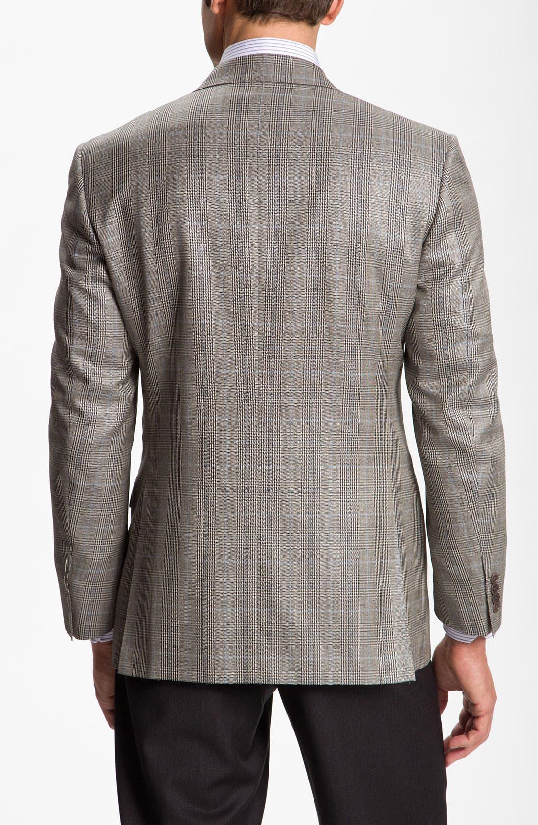 Alternate Image 2  - Canali Plaid Sportcoat