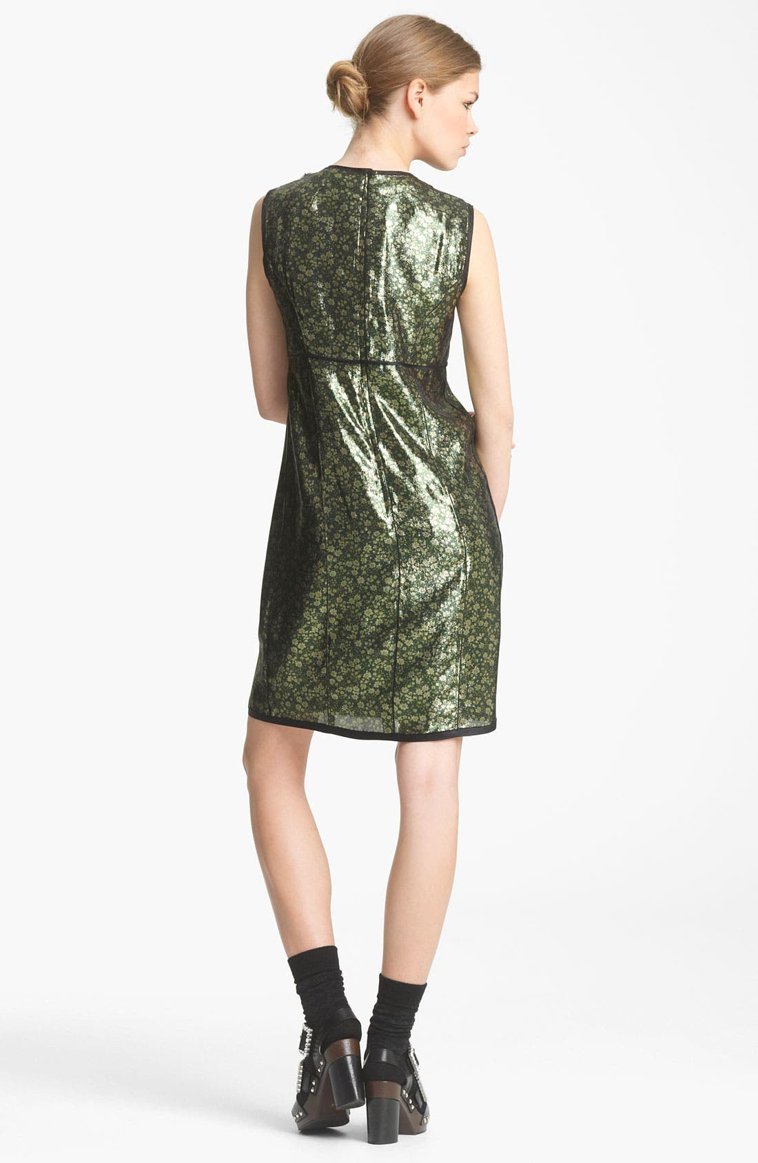 Alternate Image 3  - MARC JACOBS Embroidered Lamé Shift Dress