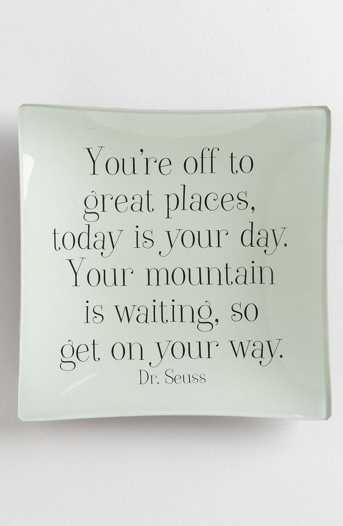 'You're Off to Great Places' Trinket Tray,                             Main thumbnail 1, color,                             No Color