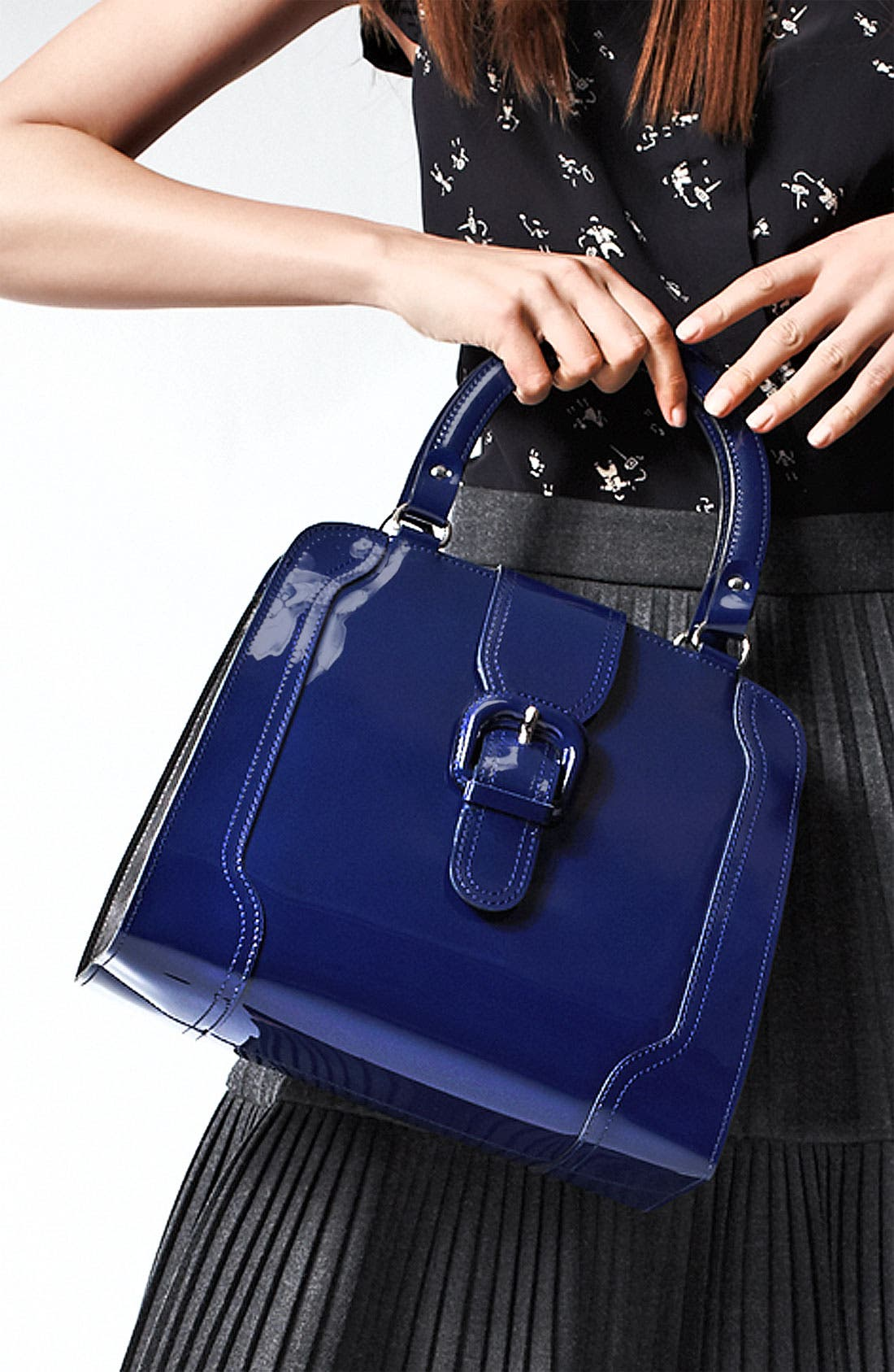 Alternate Image 2  - Marni 'Medium' Patent Leather Frame Bag