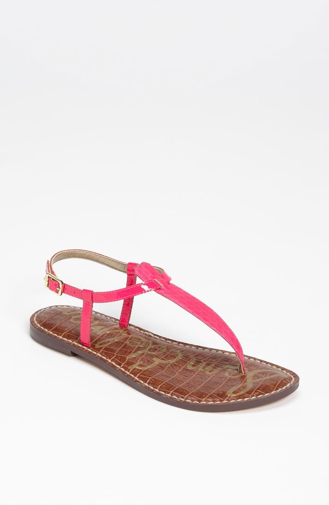 Alternate Image 1 Selected - Sam Edelman 'Gigi' Sandal (Women) (Exclusive Color)