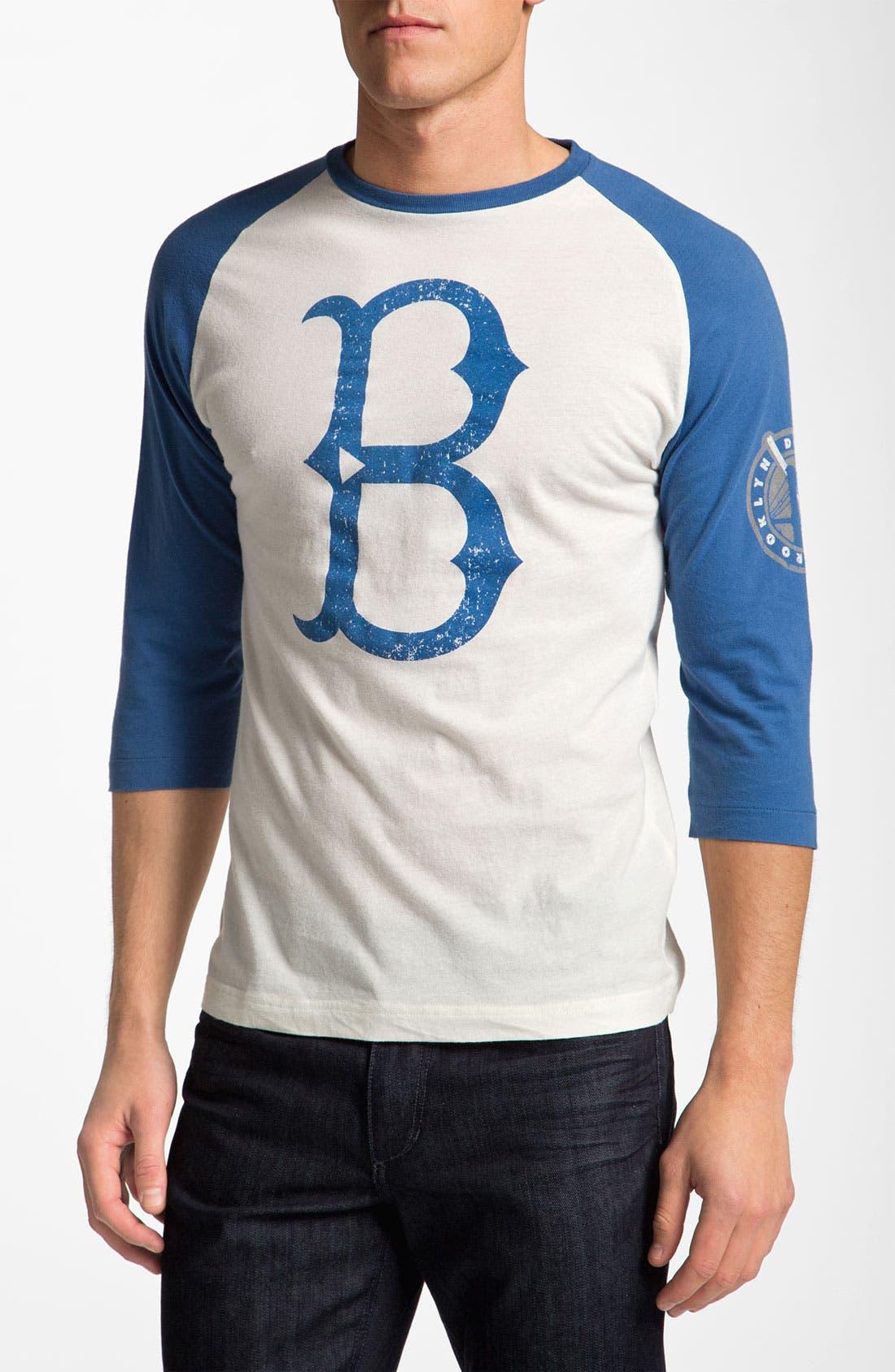 Alternate Image 1 Selected - Wright & Ditson 'Brooklyn Dodgers' Baseball T-Shirt