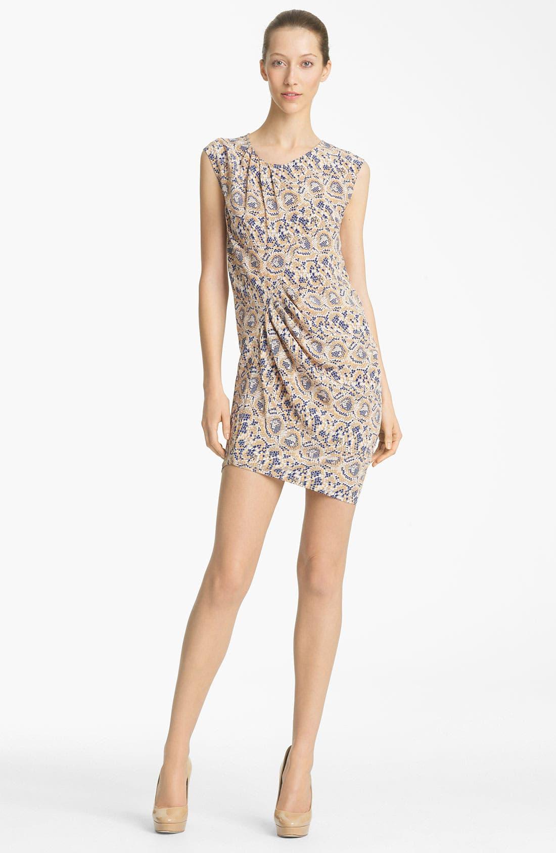 Alternate Image 1 Selected - Thakoon Mosaic Print Silk Dress