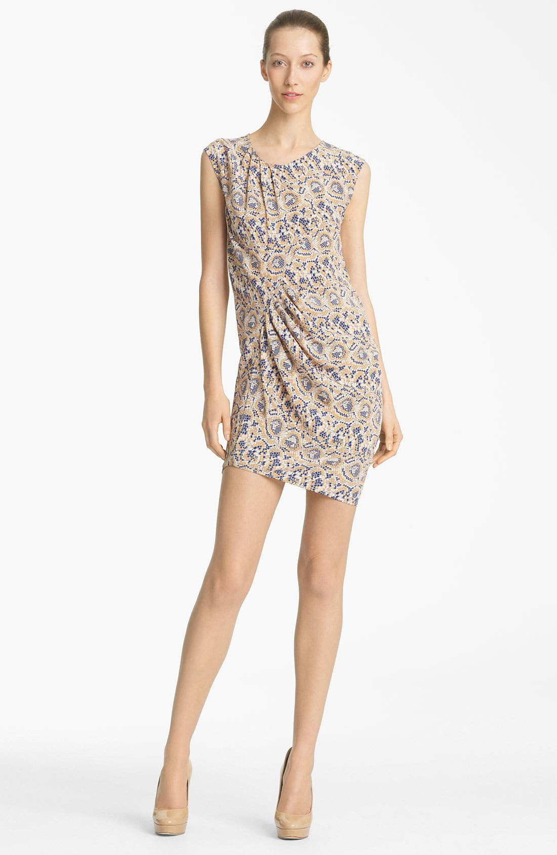 Main Image - Thakoon Mosaic Print Silk Dress