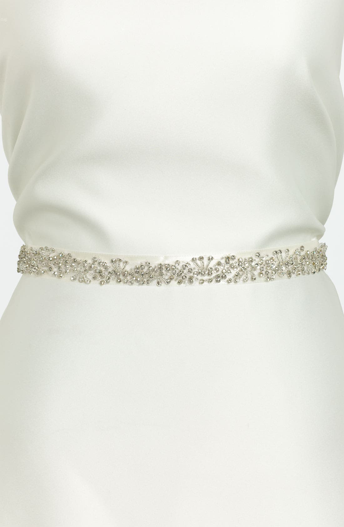 Alternate Image 1 Selected - Nina Ornate Beaded Sash