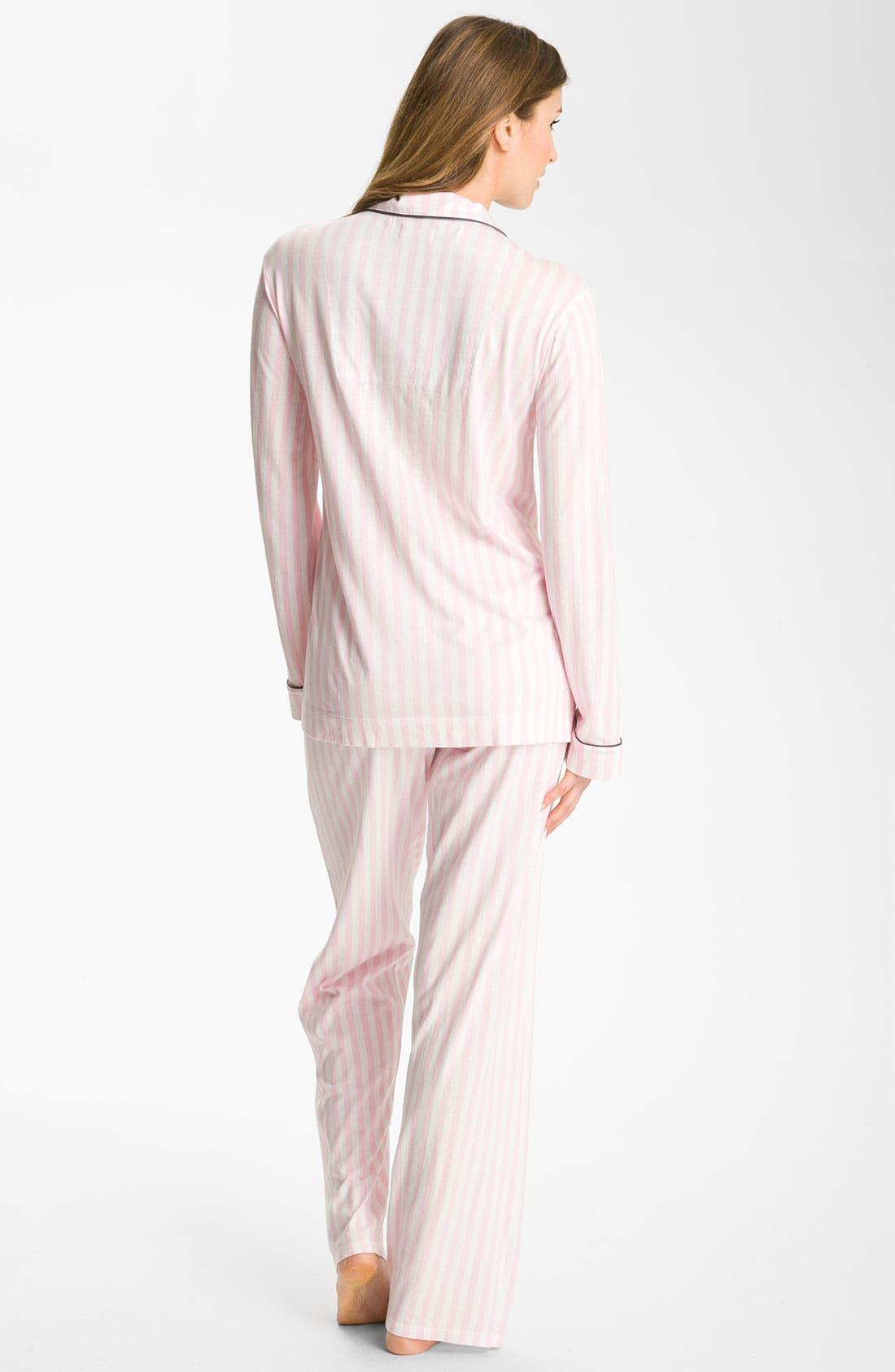 Alternate Image 2  - PJ Salvage Knit Pajamas