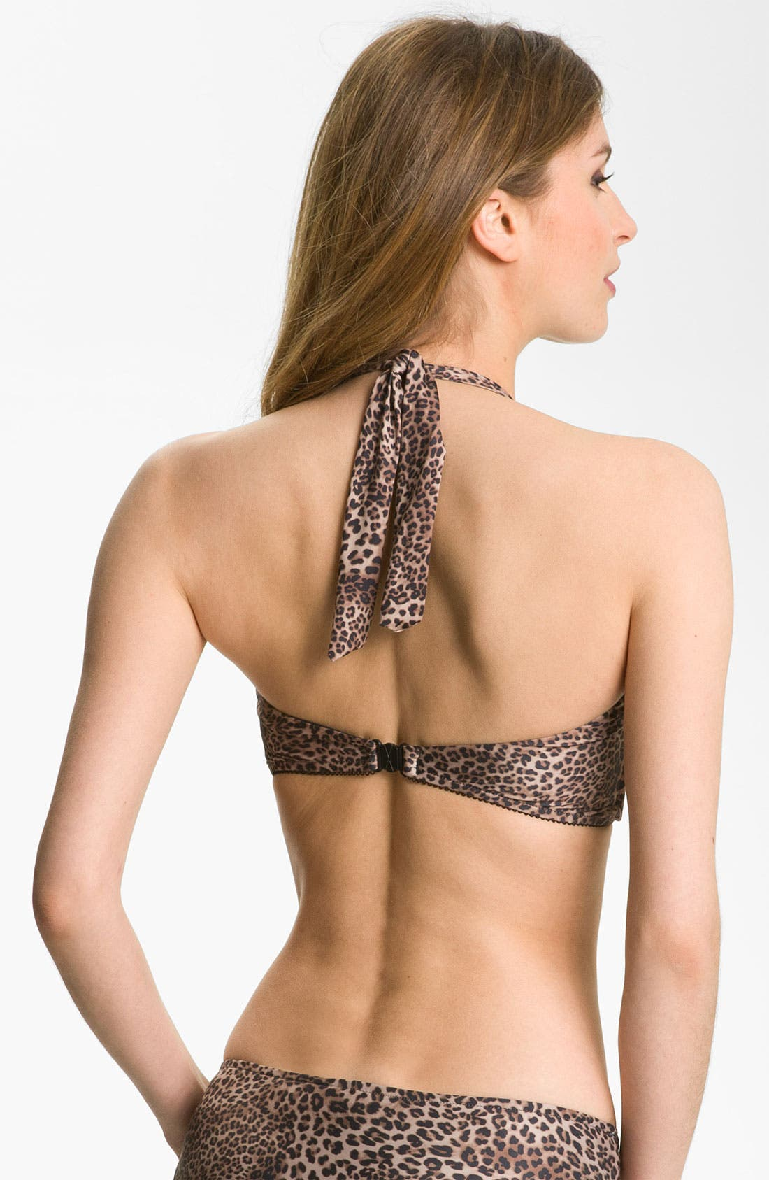 Alternate Image 2  - Seafolly 'Skin Deep' Bustier Bikini Top (D-Cup)