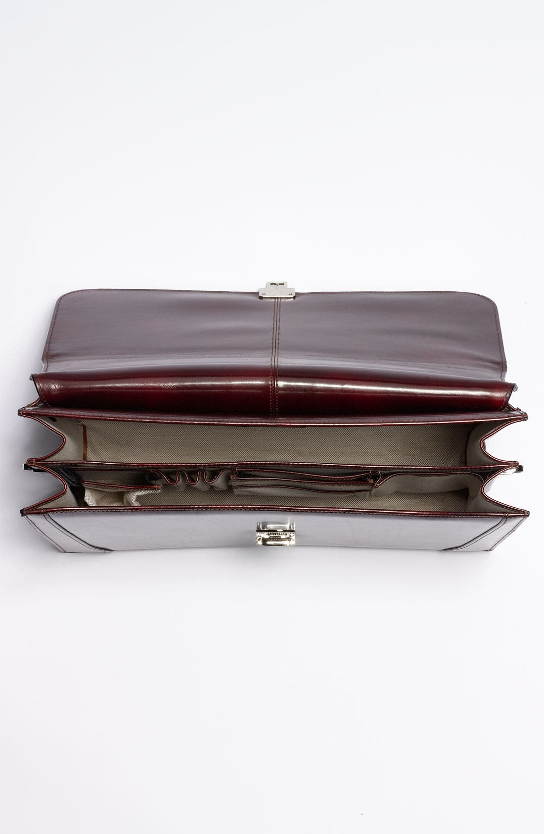 Alternate Image 4  - Bosca Double Gusset Briefcase