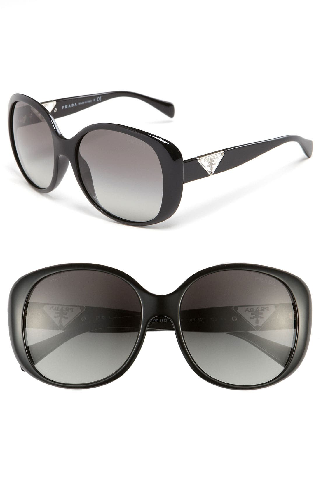 Alternate Image 1 Selected - Prada 56mm Oversized Sunglasses