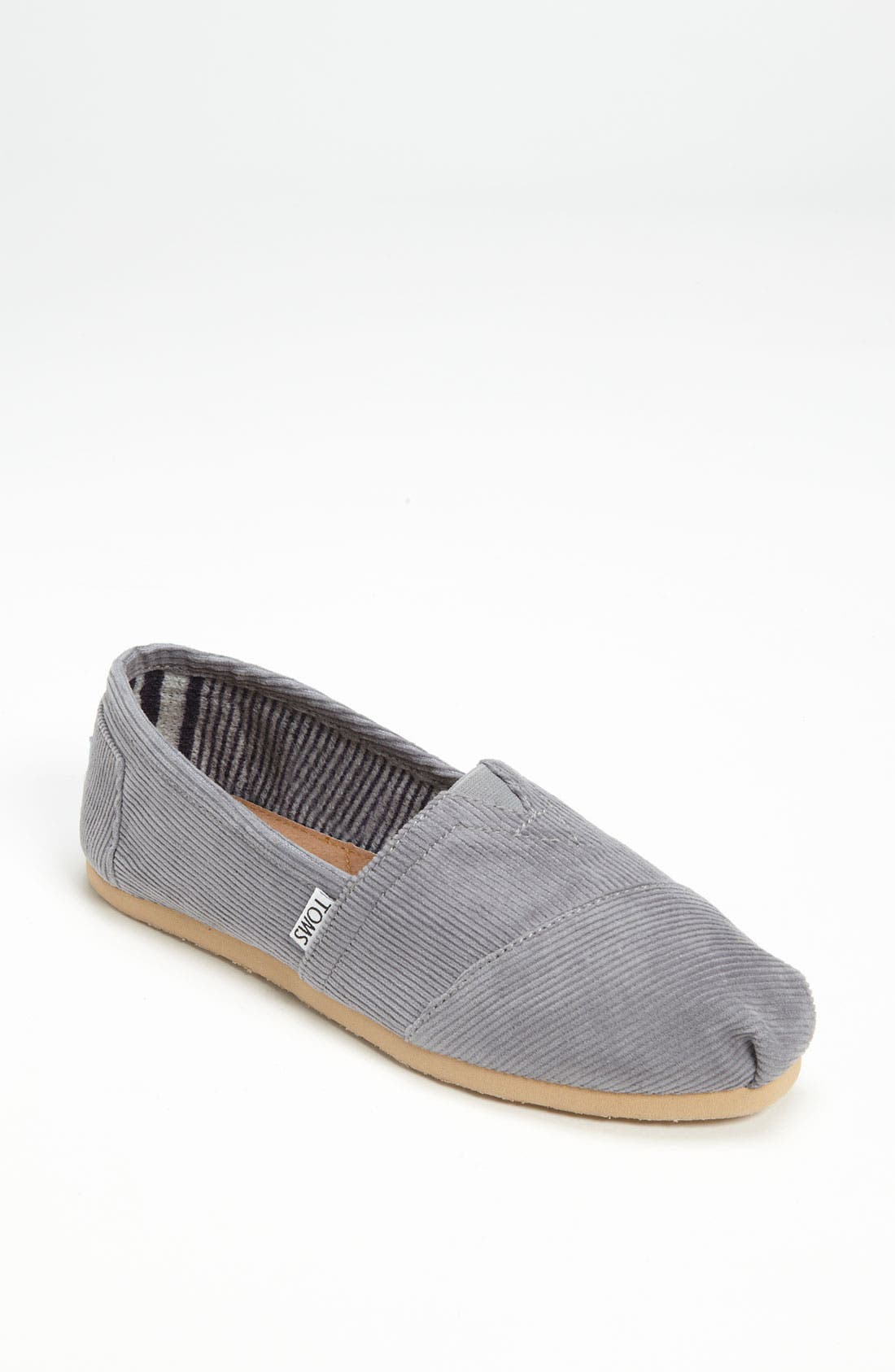 Alternate Image 1 Selected - TOMS 'Classic' Corduroy Slip-On (Women)