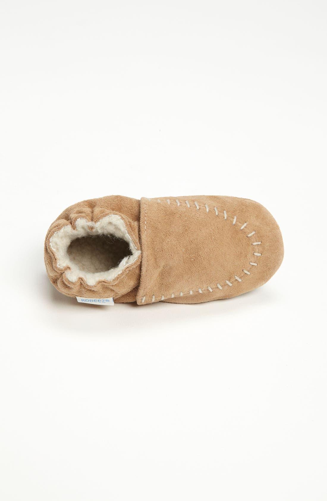 Alternate Image 3  - Robeez® 'Cozy Moccasin' Slip-On (Baby & Walker)