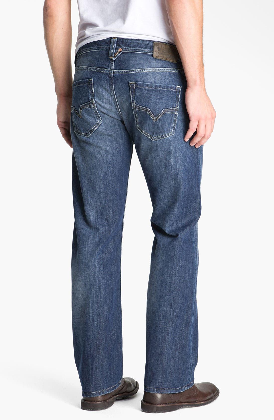 Alternate Image 1 Selected - DIESEL® 'Larkee' Straight Leg Jeans (801Z)