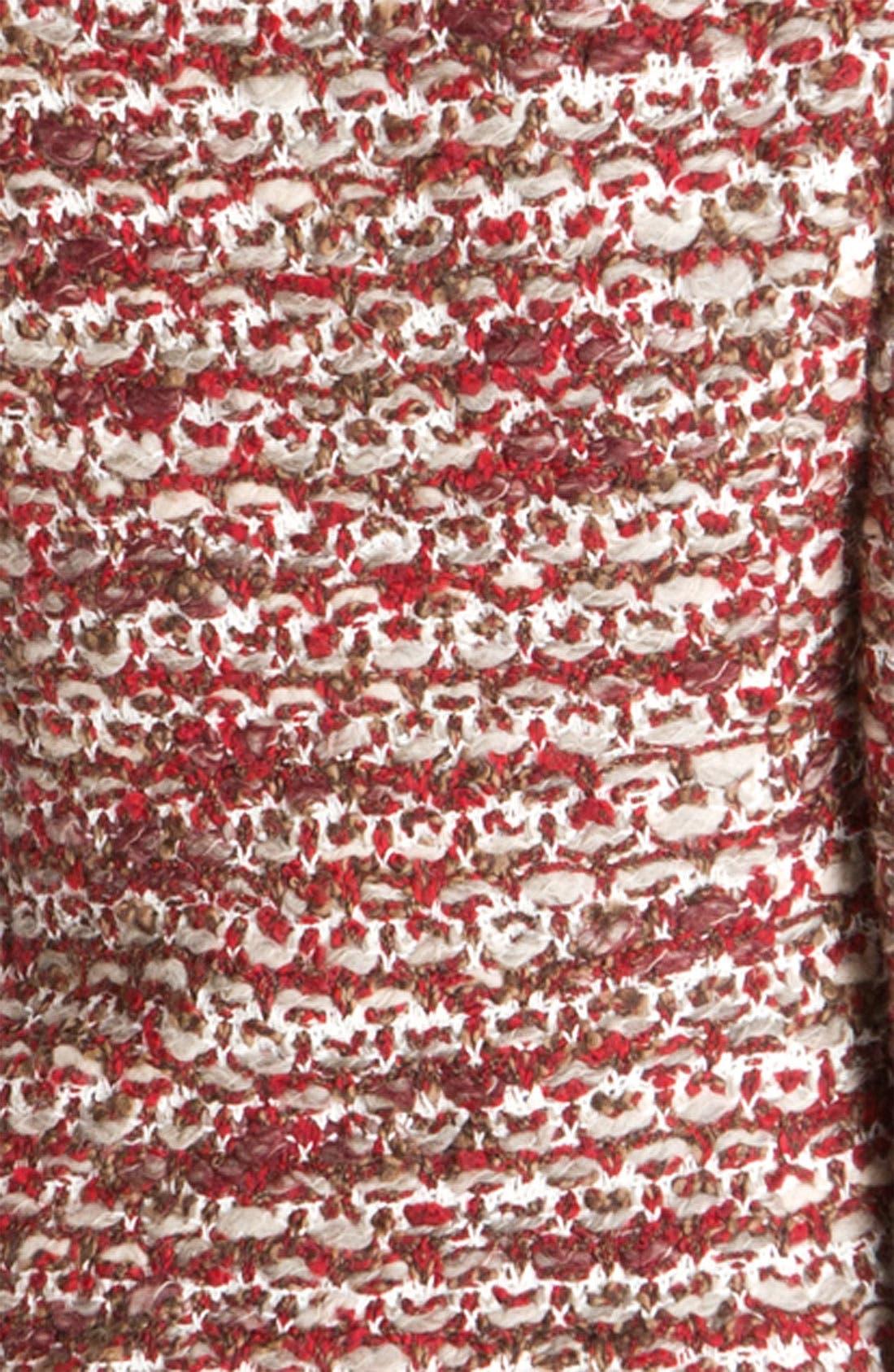 Alternate Image 3  - St. John Collection V-Neck Ruby Tweed Jacket