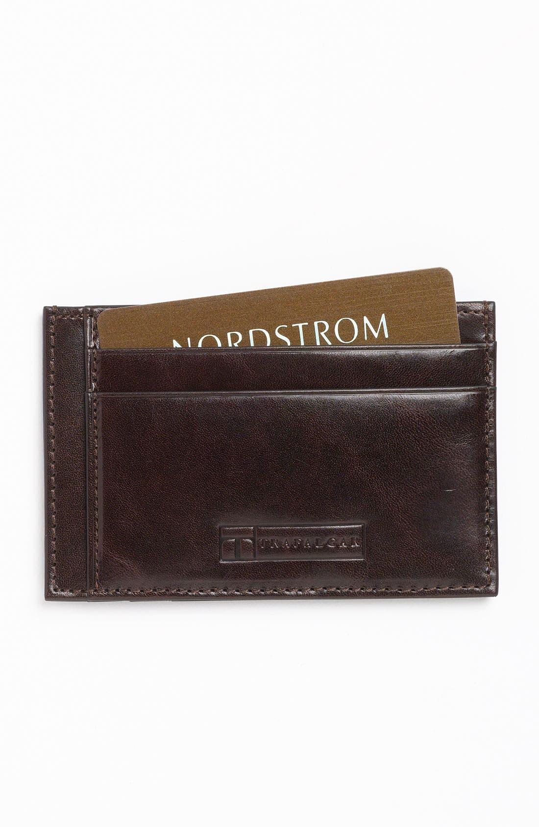 Main Image - Trafalgar 'Cortina' Card Case