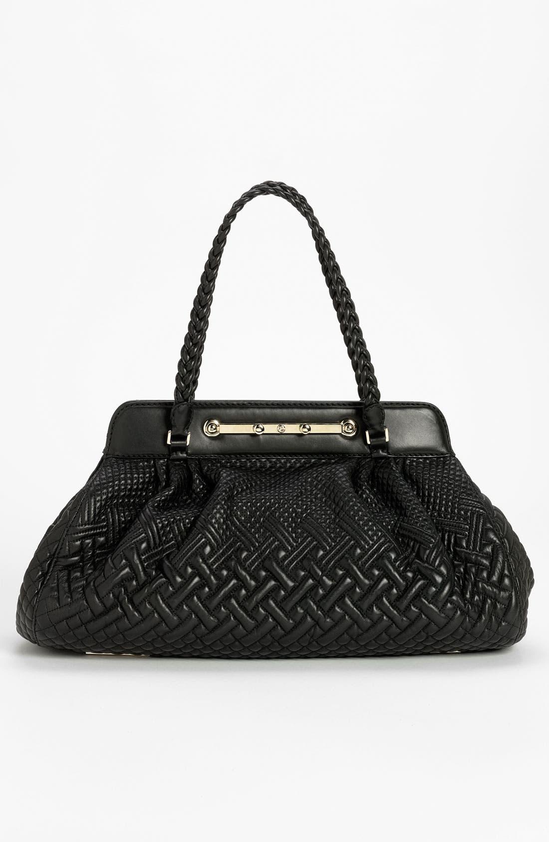 Main Image - Valentino 'Demetra' Leather Shoulder Bag