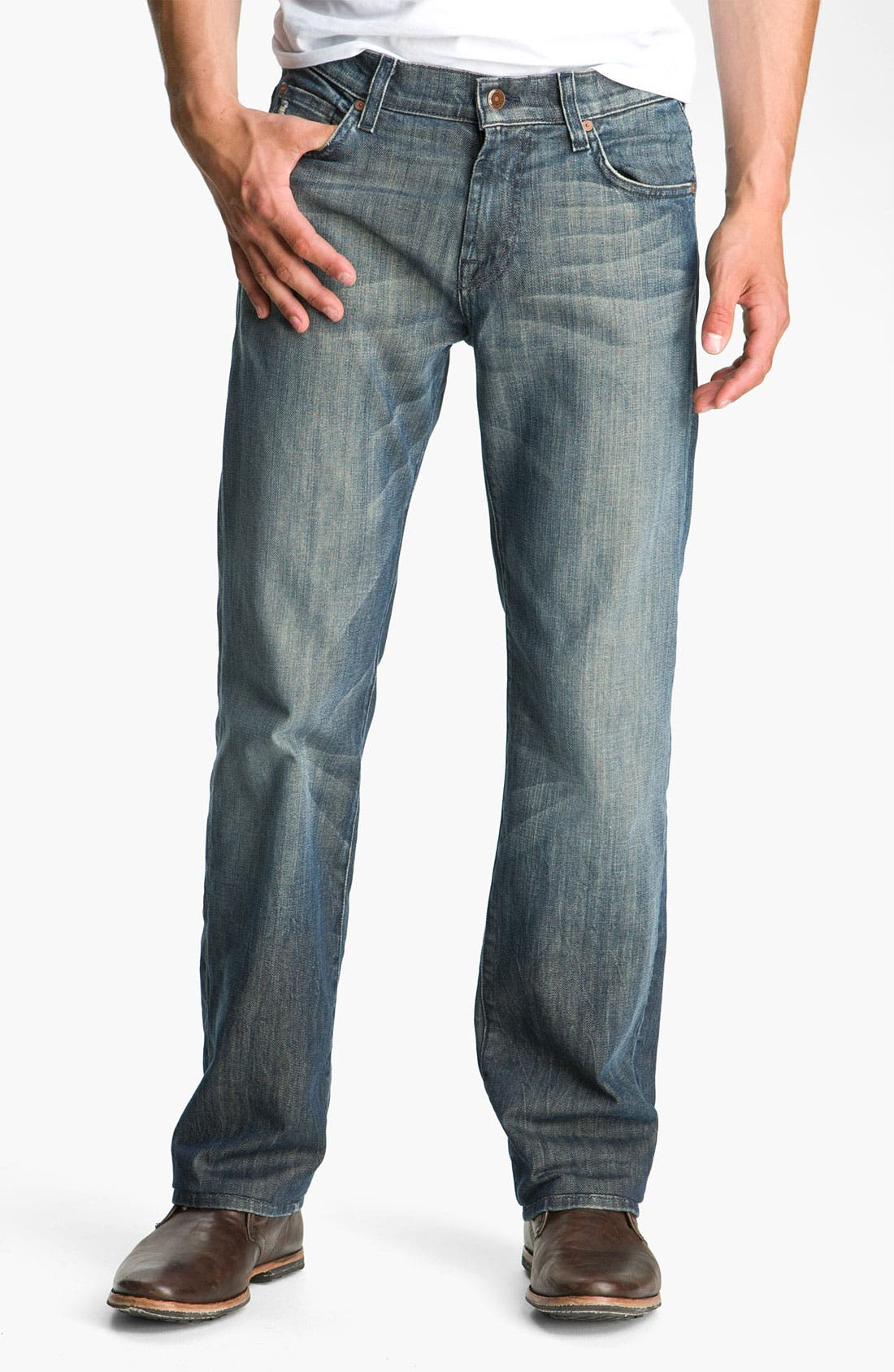 Alternate Image 2  - 7 For All Mankind® 'Austyn' Relaxed Fit Jeans (Melbourne)