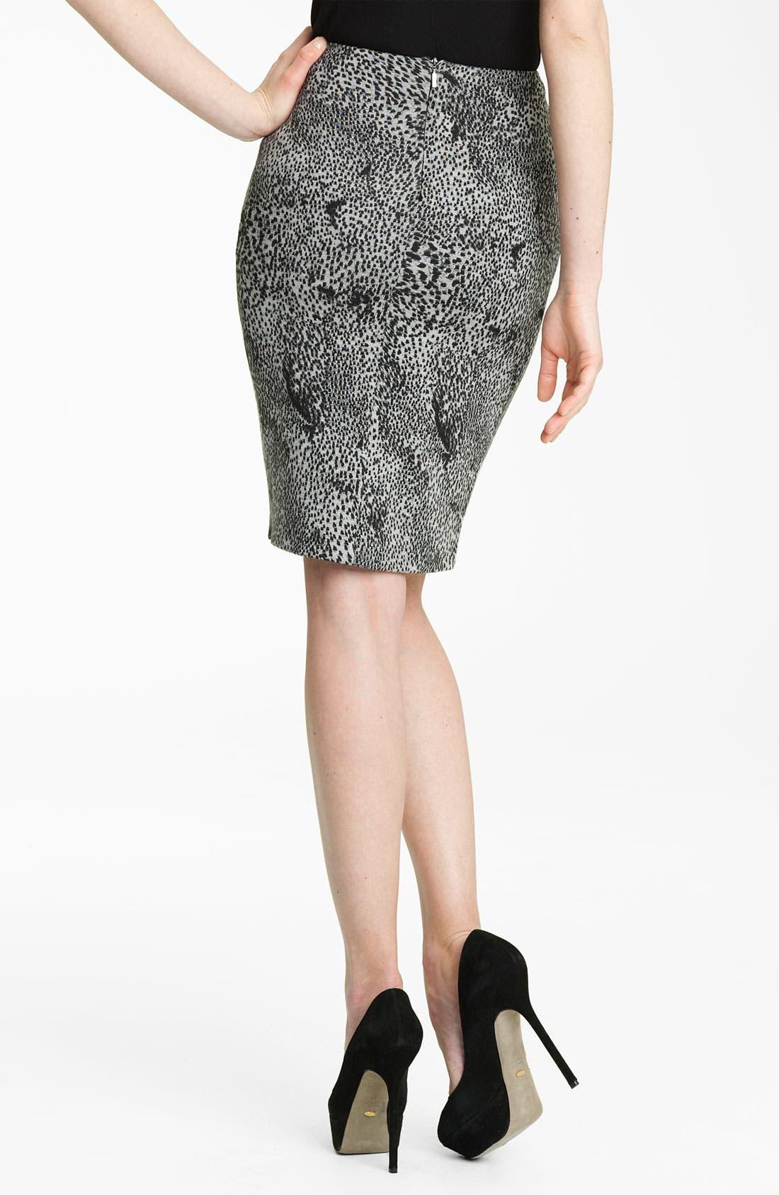 Alternate Image 2  - Max Mara 'Vertigo' Print Jersey Skirt