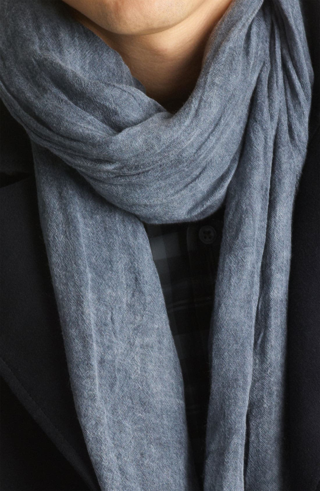 Alternate Image 2  - John Varvatos Collection Antique Dye Scarf