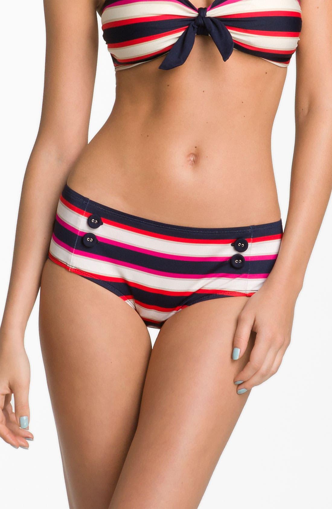 Main Image - MARC BY MARC JACOBS 'Field Stripe' Hipster Bikini Bottoms