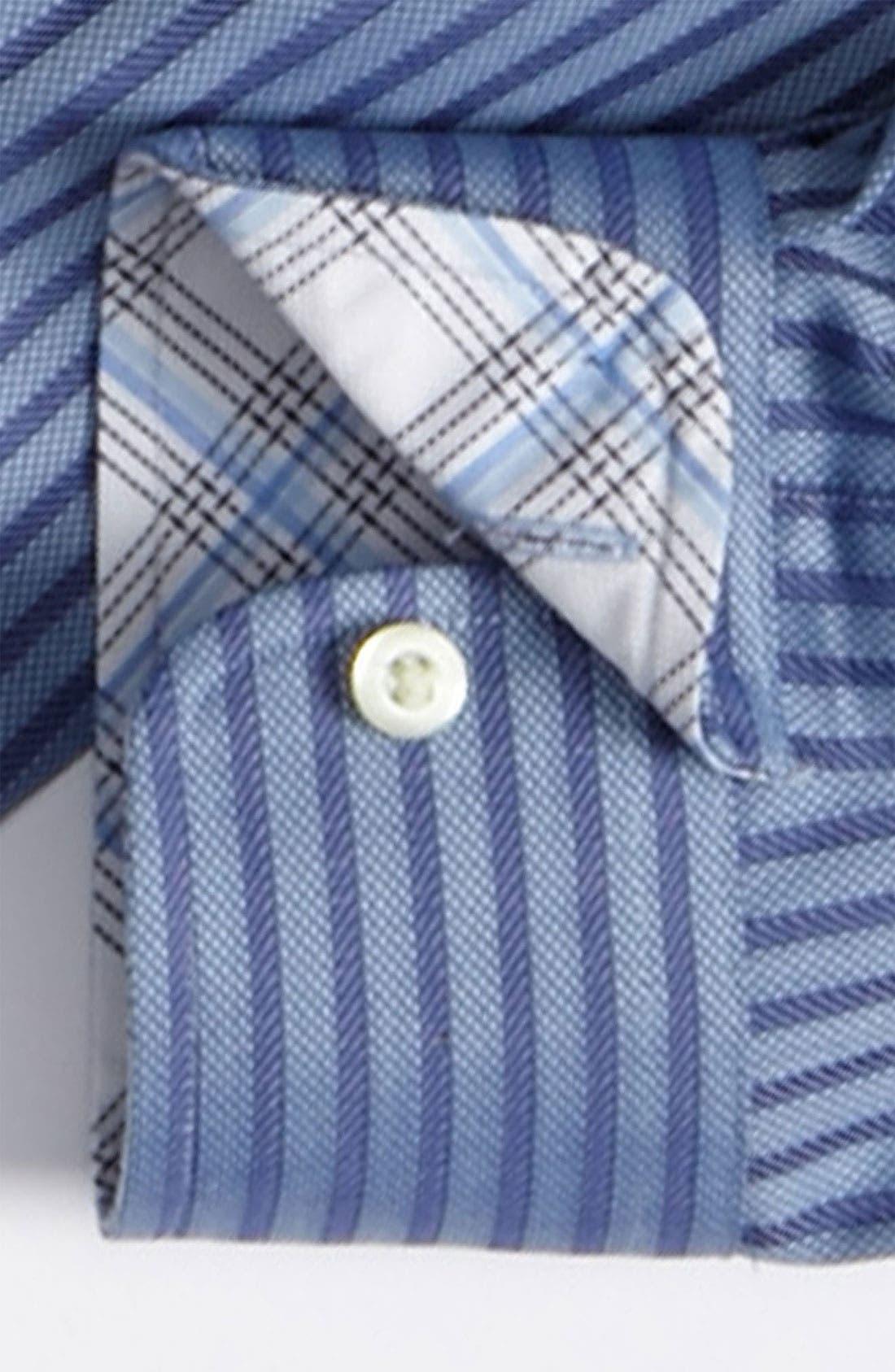 Alternate Image 2  - Thomas Dean Dress Shirt (Big Boys)