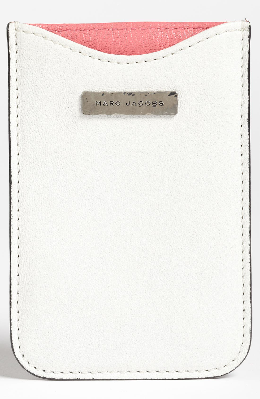 Main Image - MARC JACOBS Leather iPhone Sleeve