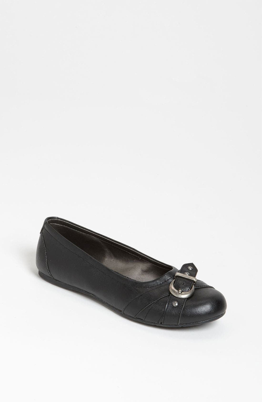 Alternate Image 1 Selected - Jessica Simpson 'Jovie' Flat (Little Kid & Big Kid)