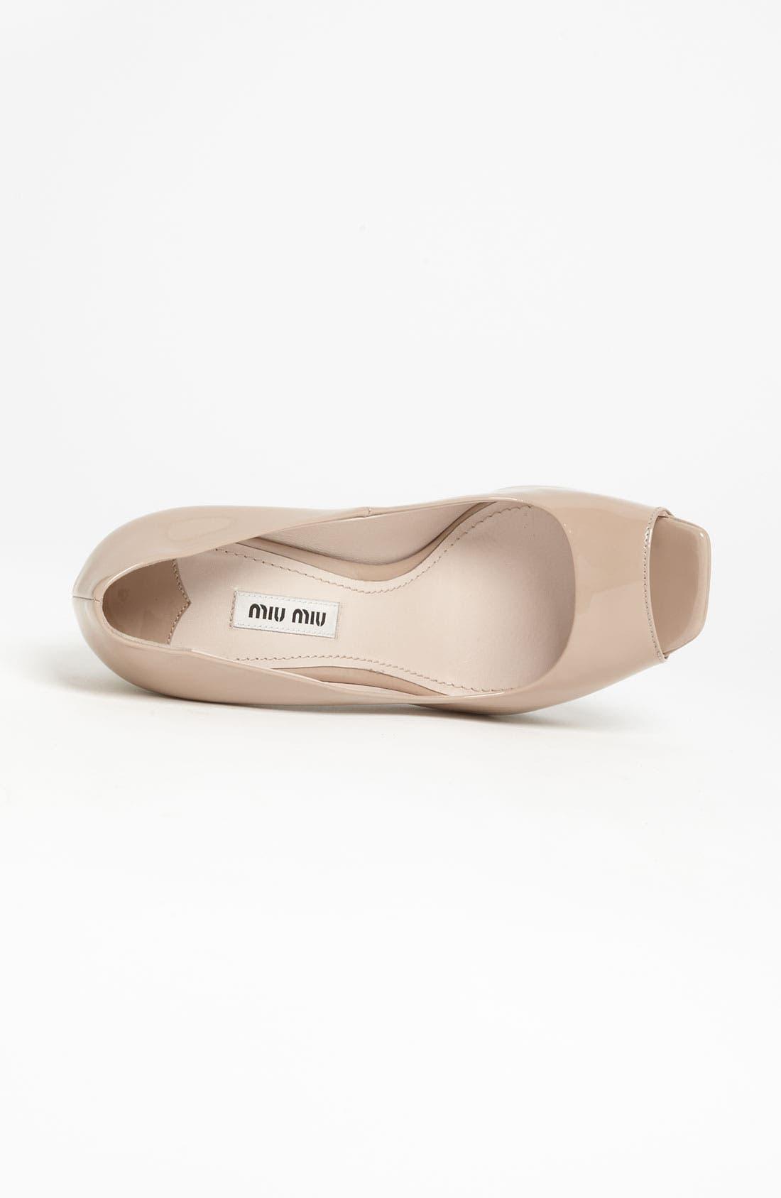 Alternate Image 3  - Miu Miu Embellished Heel Pump