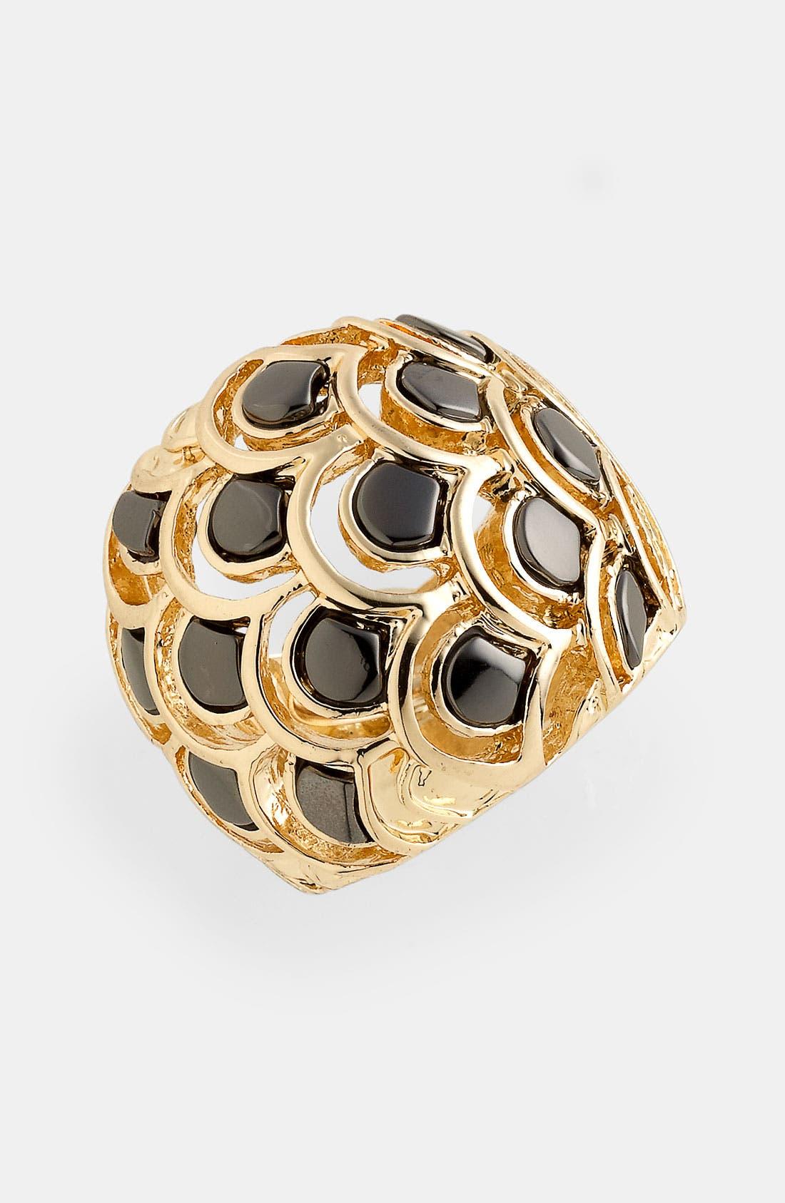 Main Image - Spring Street Design Group Metal Scales Ring