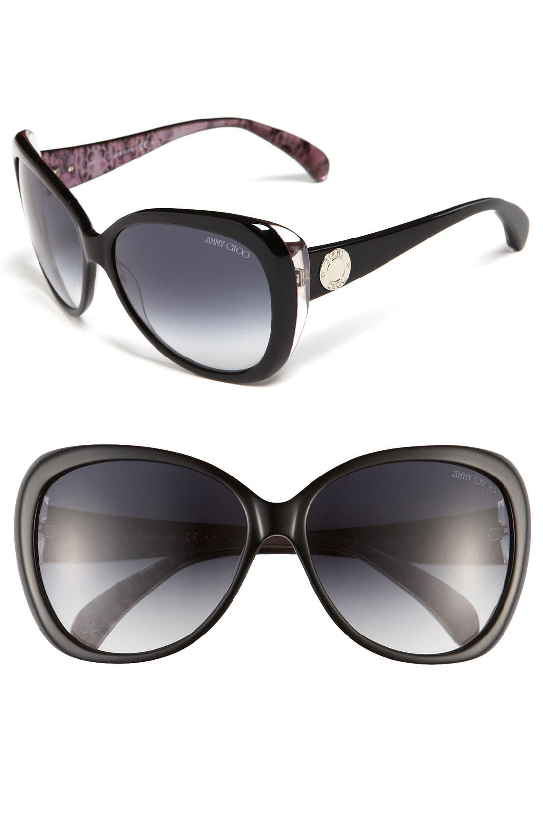 Alternate Image 1 Selected - Jimmy Choo 'Julie' Cat's Eye Sunglasses