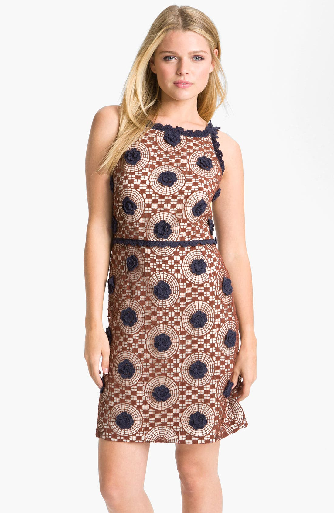 Main Image - Tory Burch 'Sally' Sleeveless Sheath Dress