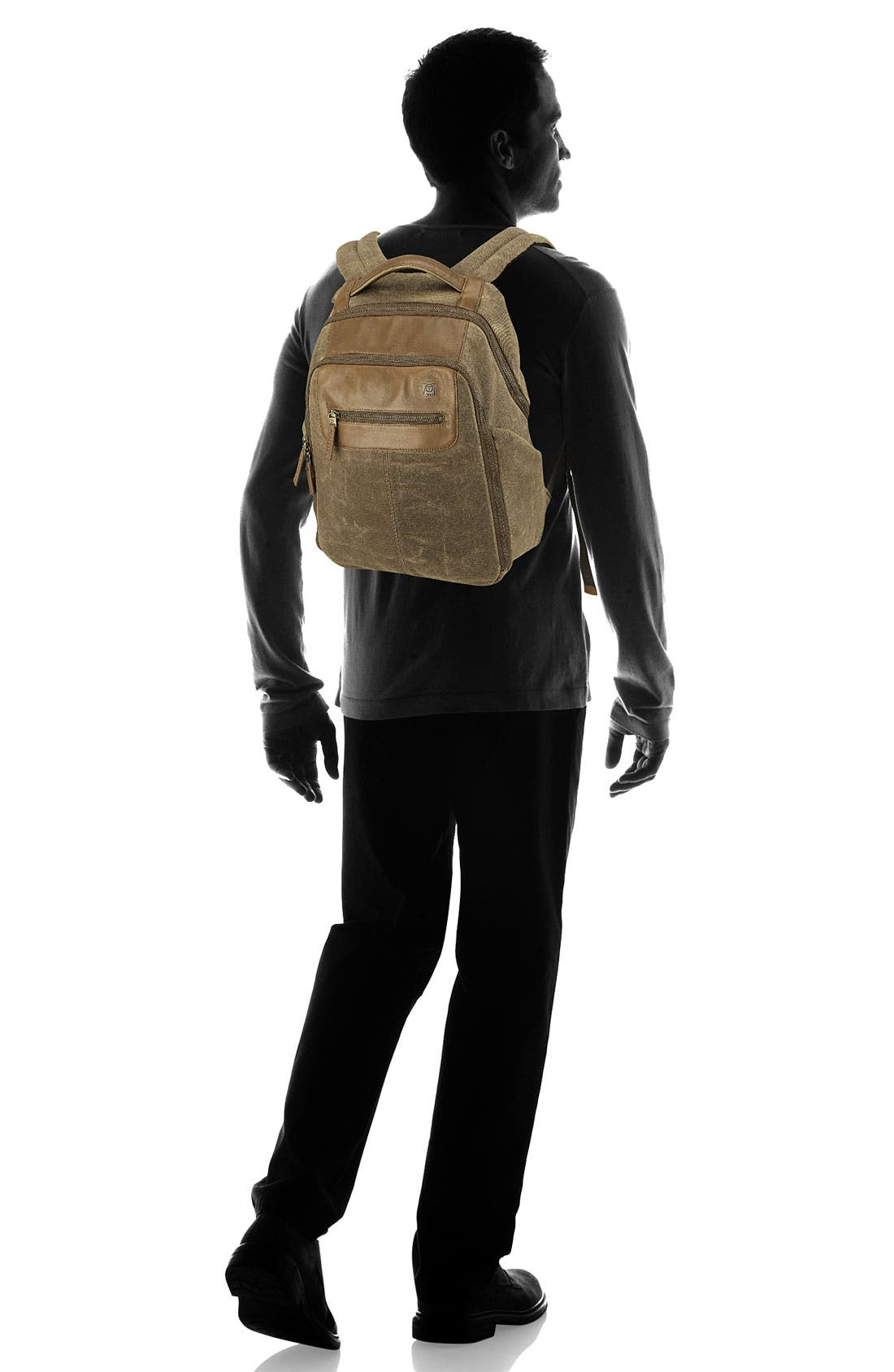Alternate Image 5  - T-Tech by Tumi 'Forge - Steel City' Slim Backpack