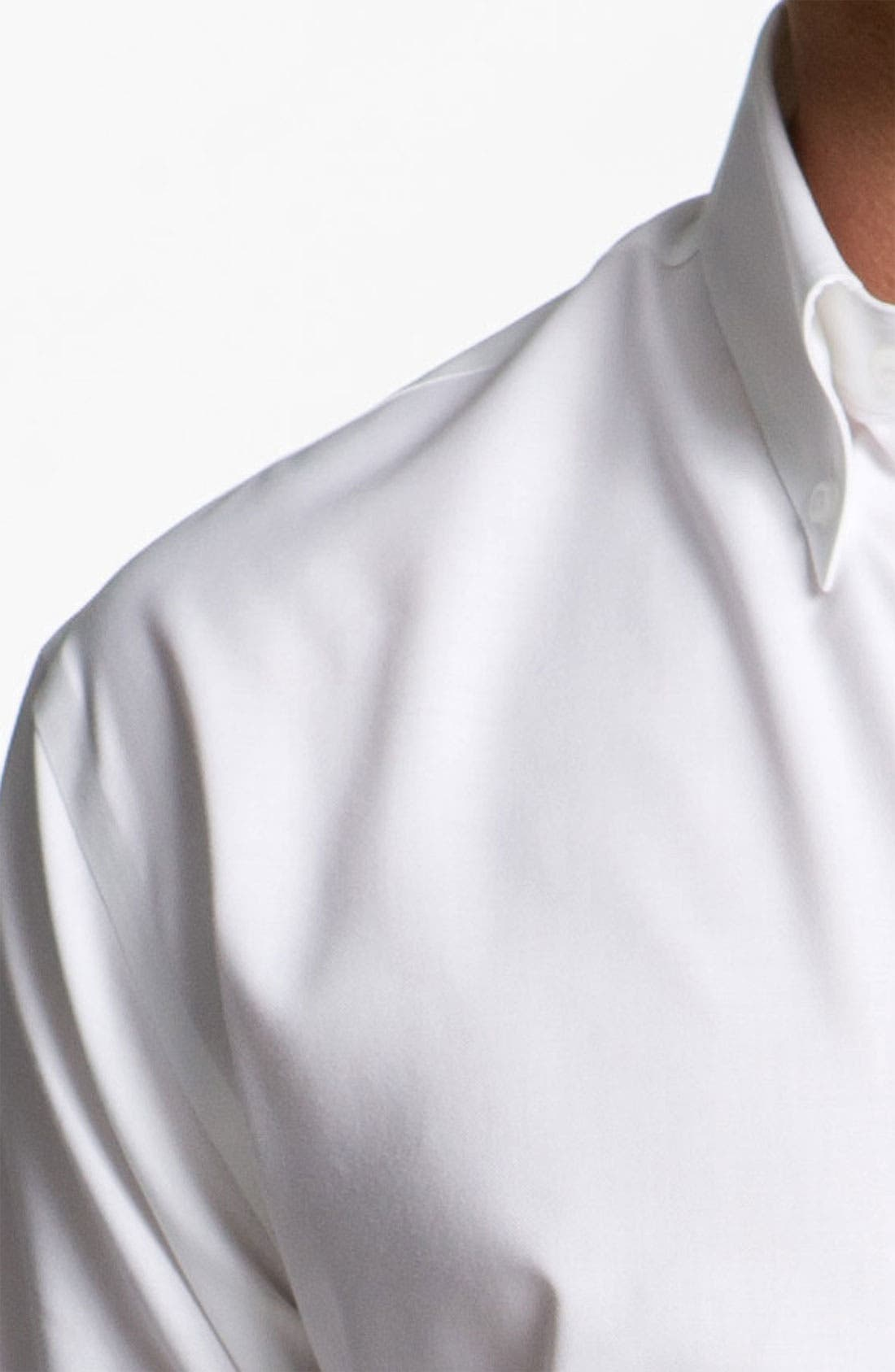 Alternate Image 3  - Cutter & Buck Nailshead - Epic Easy Care Classic Fit Sport Shirt