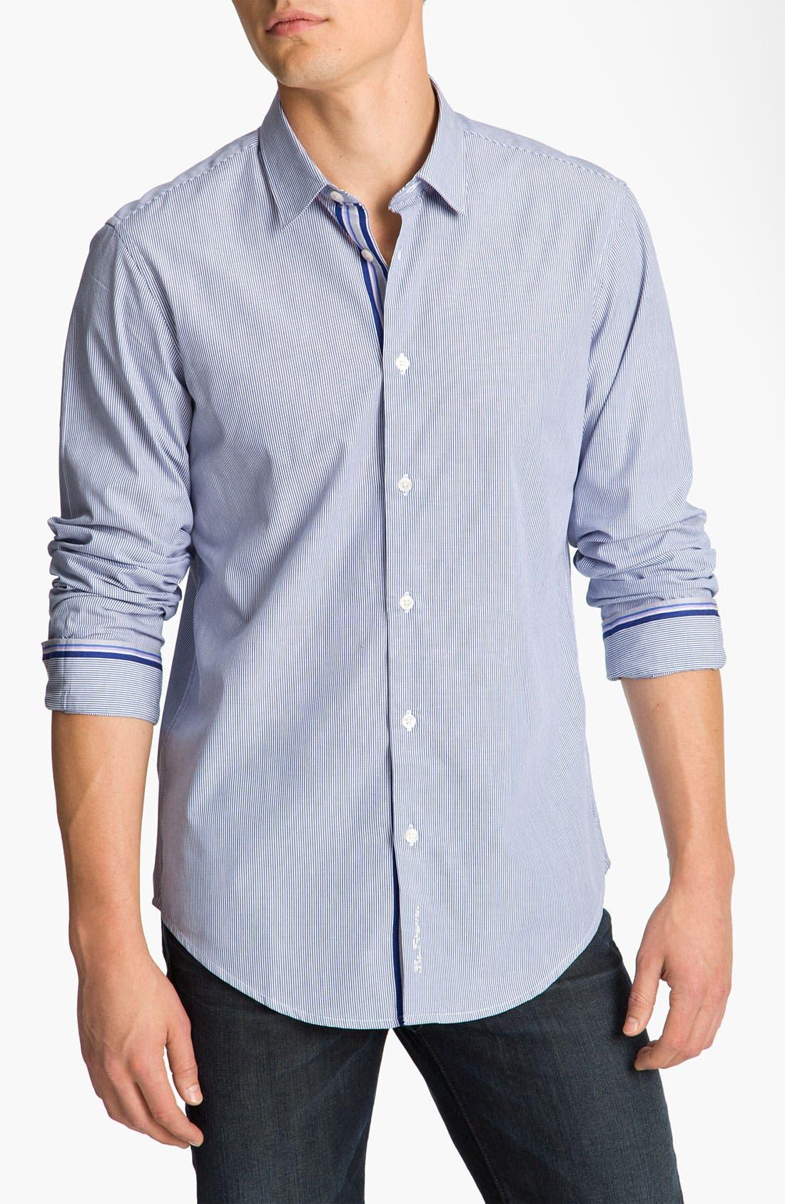 Alternate Image 1 Selected - Ben Sherman Stripe Woven Shirt