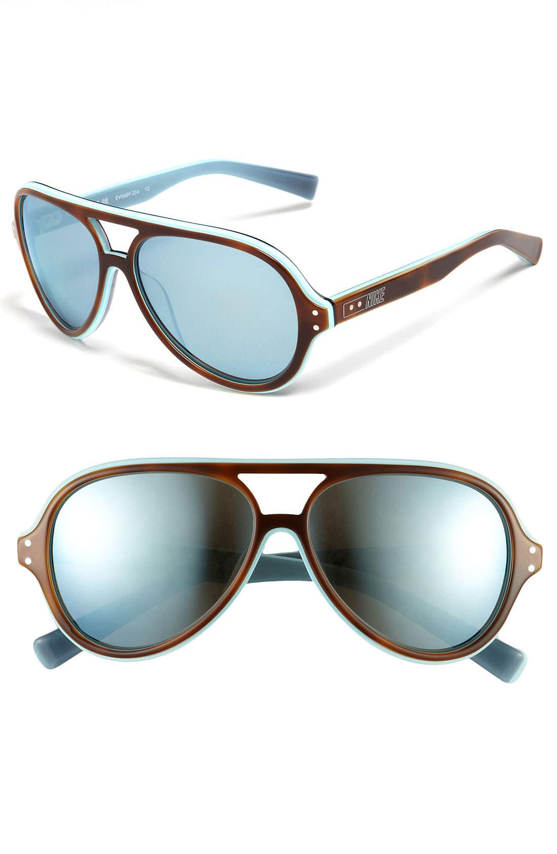 Main Image - Nike 59mm Aviator Sunglasses