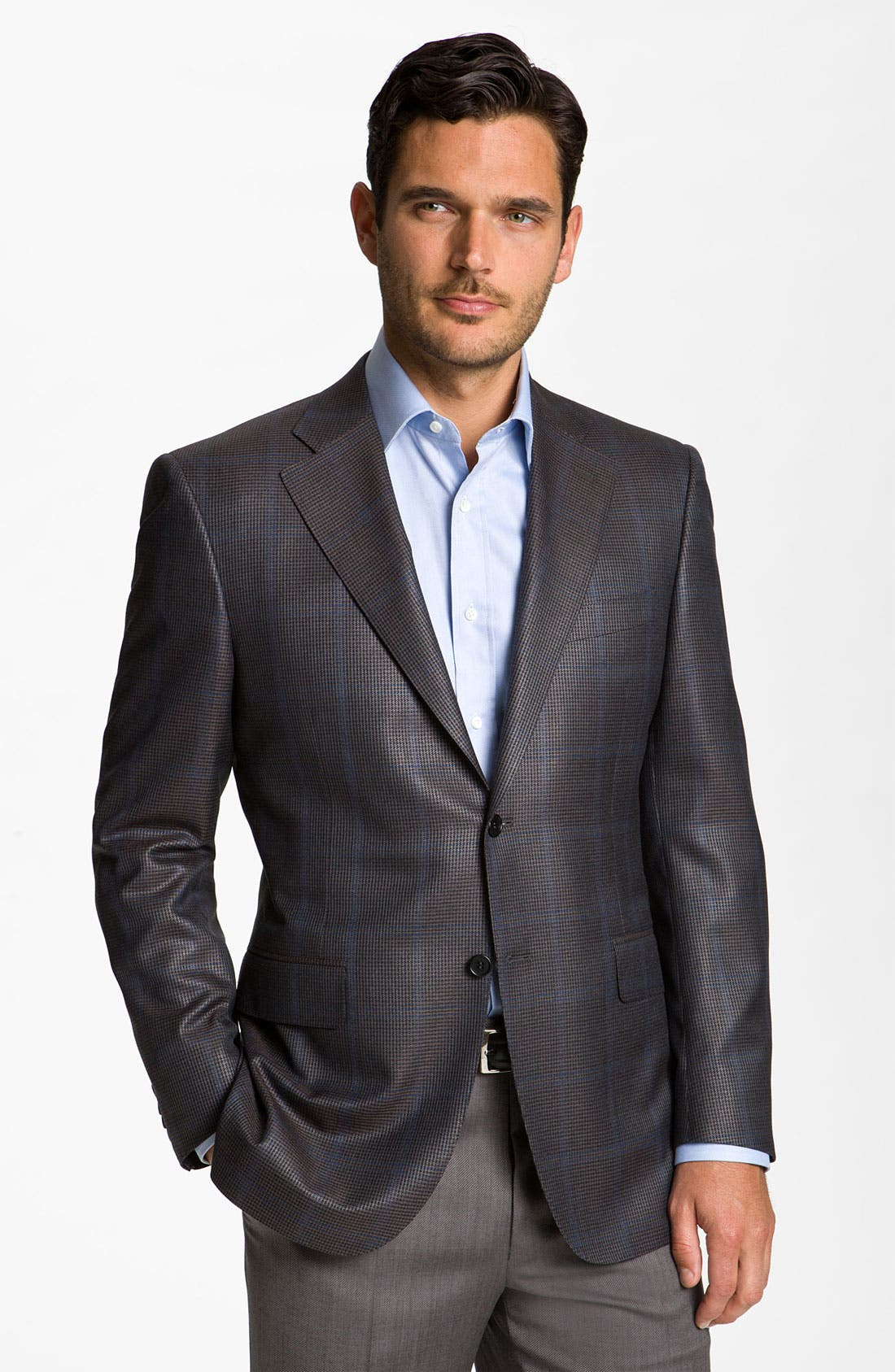 Main Image - Canali Silk Blend Sportcoat