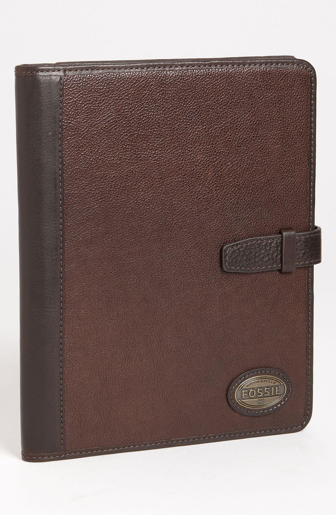 Alternate Image 1 Selected - Fossil 'Estate' Leather Tablet Case